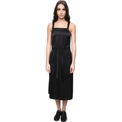 Armani Exchange Tie Waist Slip Dress
