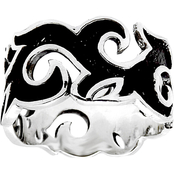 Robert Manse Designs Sterling Silver Scroll Work Ring