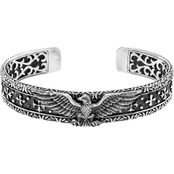 Robert Manse Designs Sterling Silver Eagle Cuff