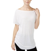 Rachel Roy Ruched Side Tee