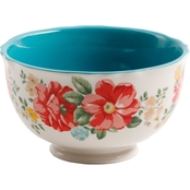 Pioneer Woman Vintage Floral 6 In. Footed Bowl