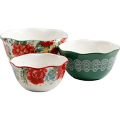Pioneer Woman Blossom Jubilee 3 Pc. Nesting Bowl Set