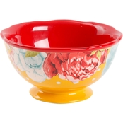 Pioneer Woman Blossom Jubilee 6 In. Footed Bowl