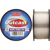 Zebco Outcast Monofilament 4 lb. Fishing Line