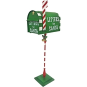 Design Toscano Letters for Santa Metal Holiday Mailbox