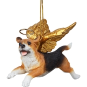 Design Toscano Honor the Pooch - Beagle Holiday Dog Angel Ornament