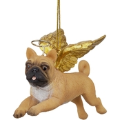 Design Toscano Honor the Pooch - Pug Holiday Dog Angel Ornament