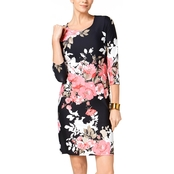 Charter Club Floral Print Shift Dress