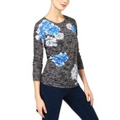 INC International Concepts Burnout Top