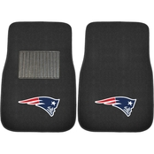 Fan Mats NFL Embroidered 18 x 27 in. Car Mat 2 pc. Set