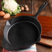 Pioneer Woman Timeless Cast Iron Pre-Seasoned 10 in. Skillet