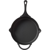 Pioneer Woman Timeless Cast Iron Pre-Seasoned 12 in. Skillet