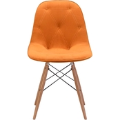 Zuo Modern Probability Dining Chair Orange