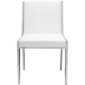 Zuo Modern Kylo Dining Chair White 2 Pk.