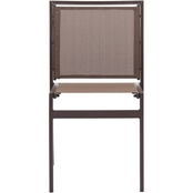 Zuo Modern Mayakoba Dining Chair Brown 2 Pk.