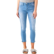 YMI Jeans Juniors Midi 25 In. Anklet Jeans with Side Zipper