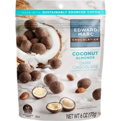 Edward Marc Coconut Dark Chocolate Almonds