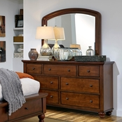 aspenhome Cambridge Dresser and Mirror