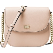 Michael Kors Women's Half Dome Crossbody Soft Pink