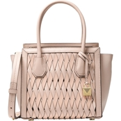 Michael Kors Mercer Studio Messenger Leather