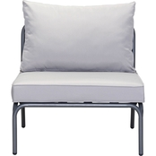 Zuo Modern Pier Armless Single Chair