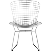 Zuo Modern Wire Dining Chair 2 Pc. Set
