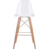 Zuo Modern Shadow Bar Chair