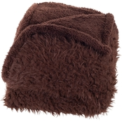 Lavish Home Plush Sherpa Fleece Throw Blanket