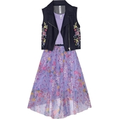 Beautees Girls 2 Pc. Jacket and Dress