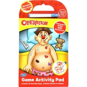 Hasbro Operation Game Activity Pad Set