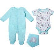 Gumballs Infant Boys Elephant 3 Pc. Set