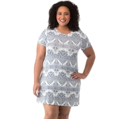 Cherokee Plus Size Knit Dress with Cuff Sleeves