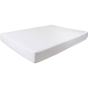 Lavish Home Bluestone Down Alternative Cotton Mattress Pad with Fitted Skirt