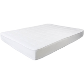 Lavish Home Bluestone Down Alternative Mattress Pad with Fitted Skirt