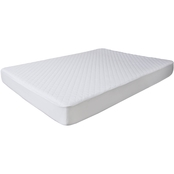 Lavish Home Bluestone Waterproof Mattress Pad With Expandable Fitted Skirt