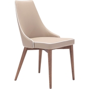 Zuo Modern Moor Dining Chair 2 Pk.