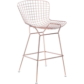 Zuo Modern Wire Bar Chair 2 Pk.
