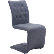 Zuo Modern Hyper Dining Chair 2 Pk.