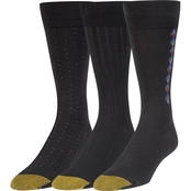 Gold Toe Premium Soft Rayon Dress Socks 3 Pk.
