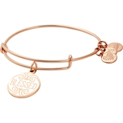 Alex and Ani Words Are Powerful Blessed Charm Bangle Bracelet