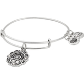 Alex and Ani Mother of the Groom Charm Expandable Wire Bangle Bracelet