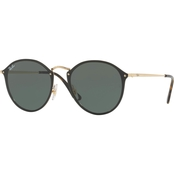 Ray-Ban Metal Policarbonate Round Sunglasses 0RB3574N