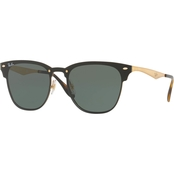Ray-Ban Metal Policarbonate Square Sunglasses 0RB3576N