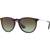 Ray-Ban Injected Policarbonate Aviator Gradient Sunglasses 0RB4171
