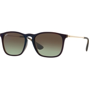 Ray-Ban Injected Policarbonate Square Gradient Sunglasses 0RB4187
