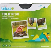 Brica by Munchkin Fold n Go Travel Bassinet