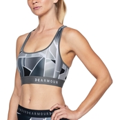 Under Armour Mid Crossback Print Bra