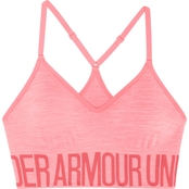 Under Armour HeatGear Armour Seamless Streaky Heather Sports Bra with Cups