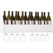 Prepac Floating Wine Rack