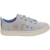 TOMS Girls Drizzly Weather Lenny Sneakers